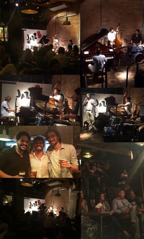 Erstes triosence Konzert in Brasilien